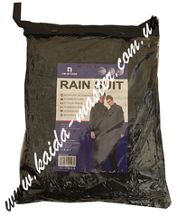 Костюм дождевик непромокаемый черный (куртка-брюки)