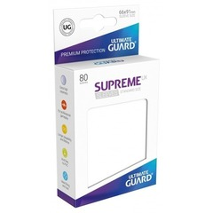Supreme Sleeves Standard Size White (UX)