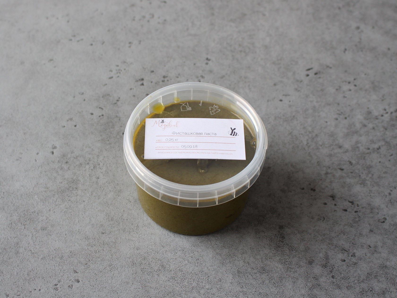 Фисташковая паста DGF с ароматизатором, 250 гр