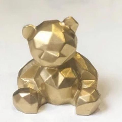 Молд «Мишка 3D»