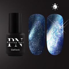 Patrisa Nail, Гель-лак светоотражающий Starry Night Flash Magnetic глубокий синий 3,5 мл - фото 1