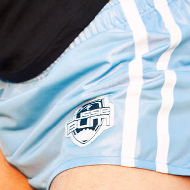 Шорты спортивные голубые Aussiebum Sport Shorts Blue