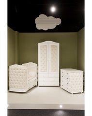 Шкаф двухдверный Тиффани декор стразы