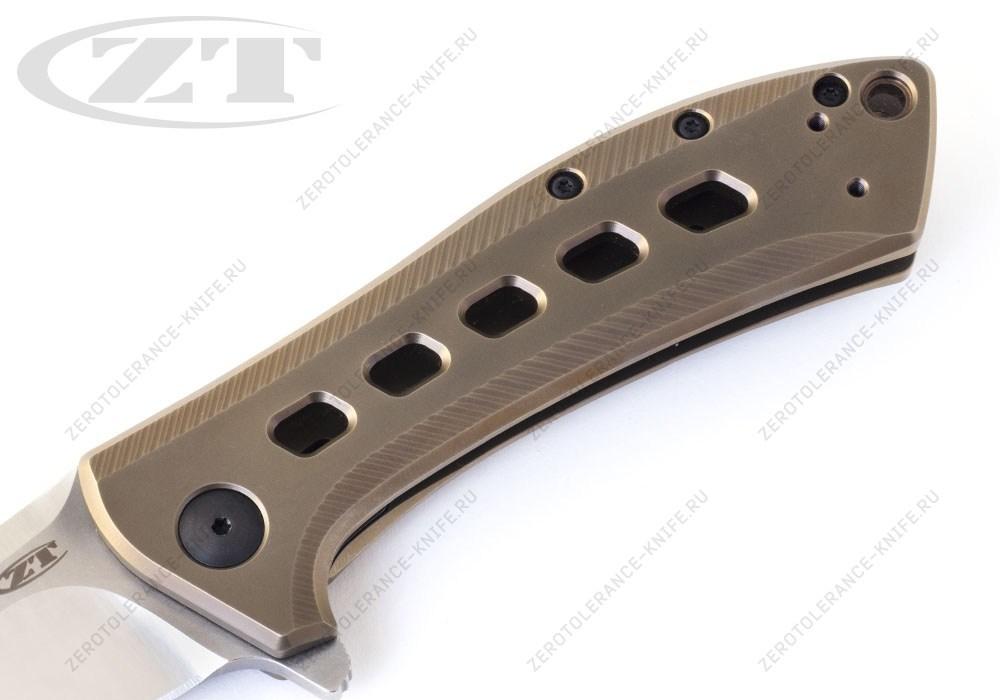 Нож Zero Tolerance 0801BRZ Rexford - фотография