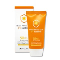 3W Clinic - Солнцезащитный крем SPF50