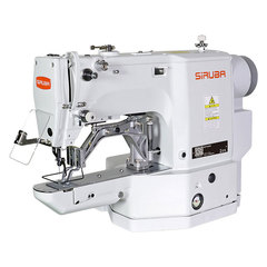 Фото: Электронная закрепочно-пуговичная швейная машина 2-в-1 SIRUBA BT530A-01