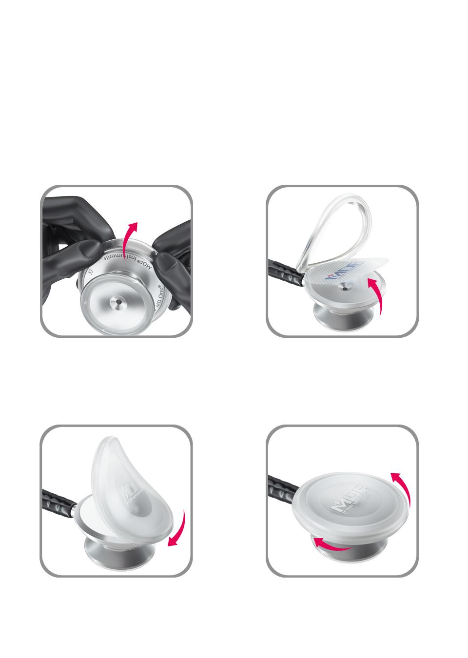 Защитные силиконовые диафрагмы для оливы ПьюрСона MDF480-F50