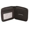 Бумажник Victorinox Tri-Fold Wallet, на молнии, чёрный, 11x1x10 см