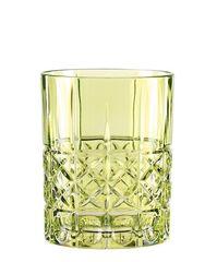Зеленый хрустальный стакан для виски Highland, 345 мл, фото 2