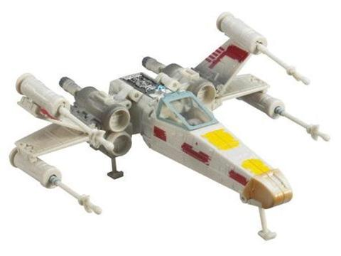 Star Wars Transformers - Luke Skywalker to X-Wing Starfighter