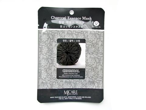 Маска с древесным углем Mijin CARE Charcoal Essence Mask