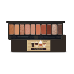 Палетка теней Etude House Play Color Eyes Caffeine Holic
