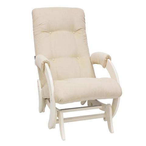 Кресло-глайдер МИ Модель 68, дуб шампань, ткань Verona vanilla