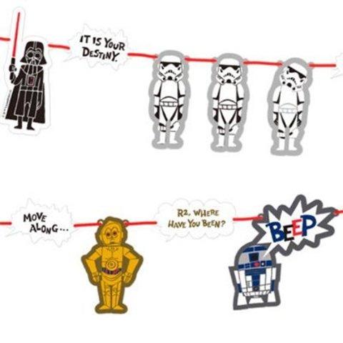 Гирлянда Звёздные войны Комикс, 230 см