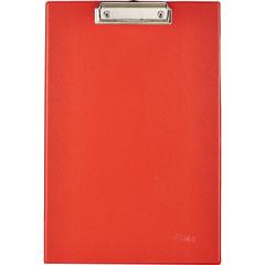 Папка-планшет Bantex A4 картонная красная без крышки