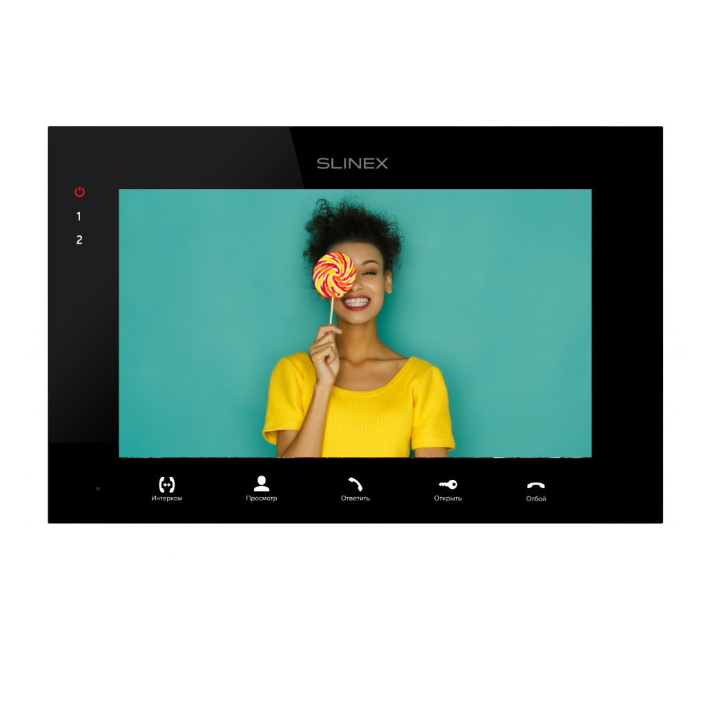 Видеодомофон Slinex SQ-07MTHD черный