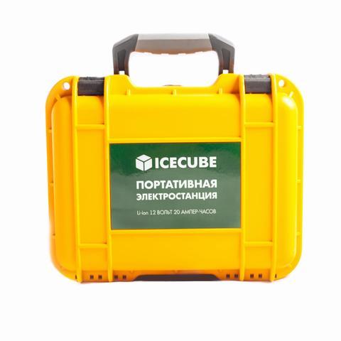 Портативная (переносная) электростанция ICECUBE ES-20 (20 А-ч, 240 Вт-ч)