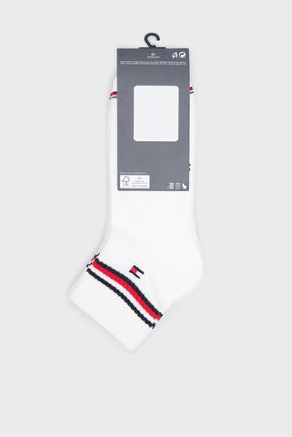 Мужские белые носки (2 пары) TH MEN ICONIC QUARTER 2P Tommy Hilfiger