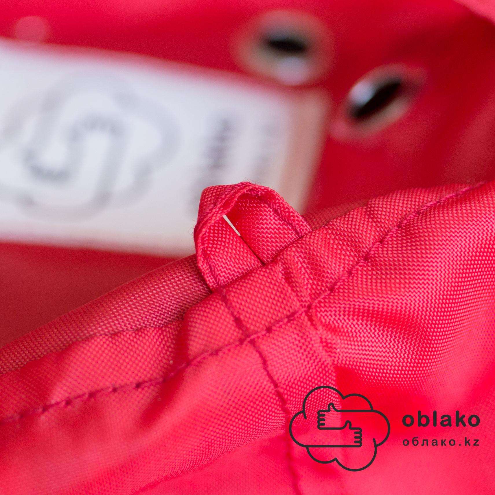 Груша М плащёвка, несъёмный чехол (красная)