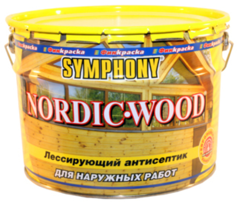 SYMPHONY NORDIC-WOOD – лессирующий антисептик на основе льняного масла