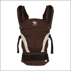 Слинг-рюкзак Manduca Baby Carrier New Style Brown (Коричневый)