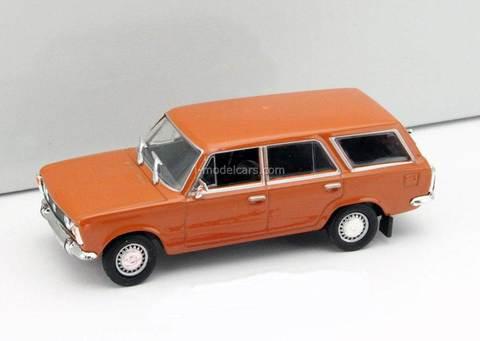 Fiat 125P Kombi dark orange 1:43 DeAgostini Kultowe Auta PRL-u #28