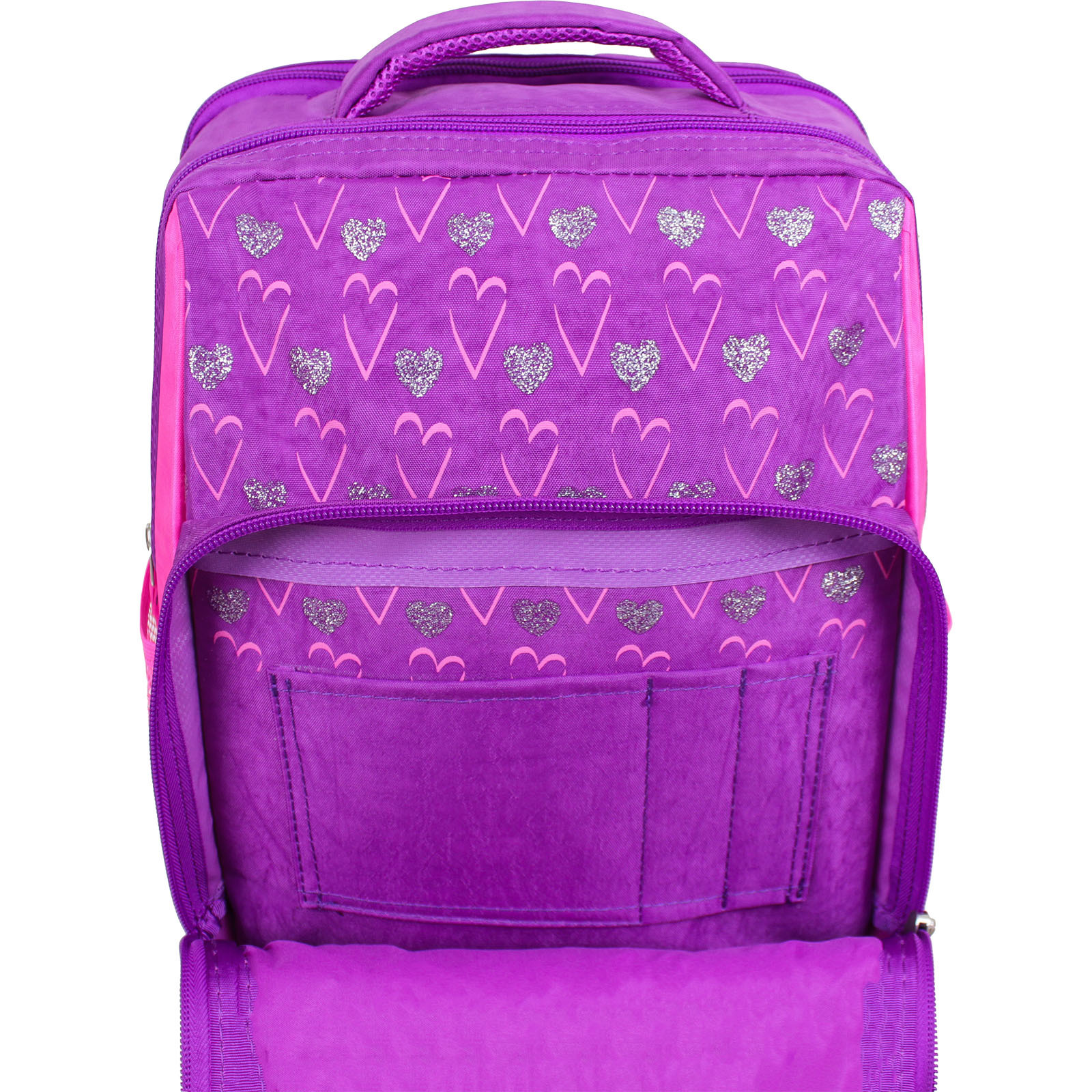 Рюкзак школьный Bagland Школьник 8 л. фиолетовый 377 (0012870)