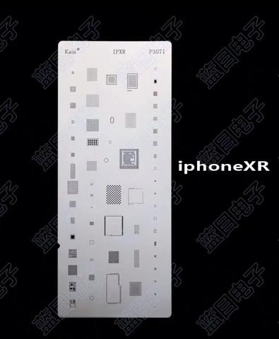 Трафарет BGA iPhone XR p3071 Kaisi