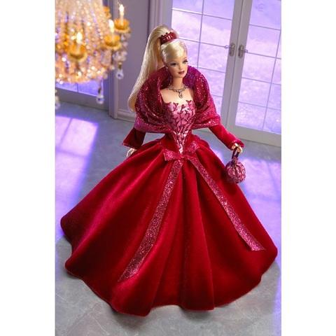 Барби Новогодняя Коллекция 2002