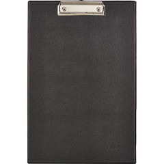 Папка-планшет Bantex A4 картонная черная без крышки