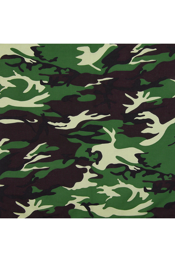 Бандана зеленый камуфляж фото