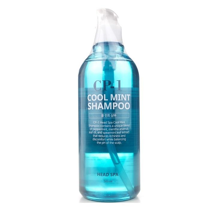 Шампунь для волос Шампунь для волос ОХЛАЖДАЮЩИЙ ESTHETIC HOUSE  CP-1 HEAD SPA COOL MINT SHAMPOO 500 мл esthetic-house-cp-1-head-spa-cool-mint-shampoo1.jpg