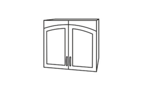Чили ШВС 600 шкаф верхний со стеклом
