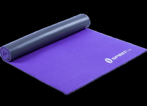 Коврик для йоги Spirit 6 мм серебристо-фиолетовый