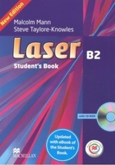 Laser New Edition B2 Student's Book + CD Rom + MPO +eBook Pk