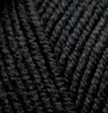 Пряжа Alize Lanagold Plus черный 60