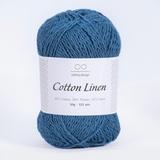 Пряжа Infinity Cotton Linen 6554 петроль