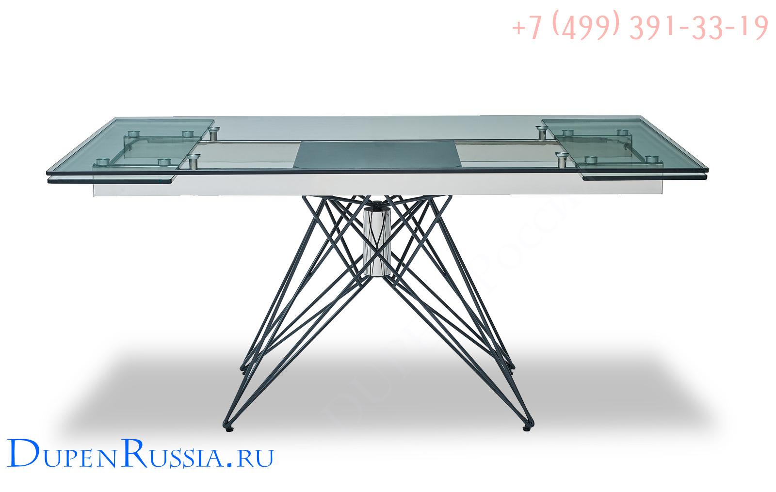 Стол ESF T041 прозрачный