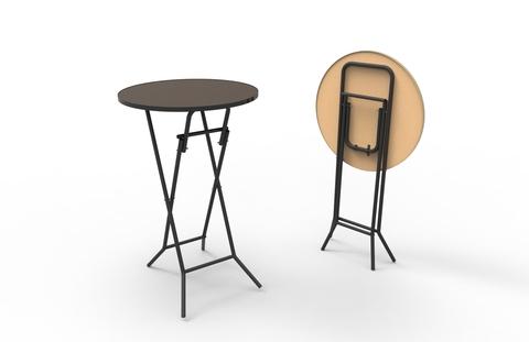 Коктейльный стол ССБ 9 Д 700 мм