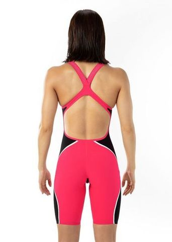 Стартовый костюм SPEEDO FASTSKIN LZR PURE INTENT Openback Kneeskin red/black/silver ПОД ЗАКАЗ