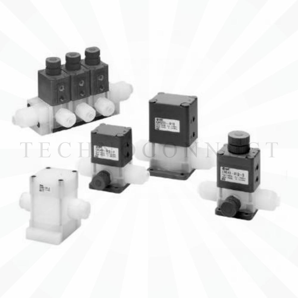 LVC30-S08-1   2/2-Клапан, хим. чистый, пневмоупр., с рег. расхода