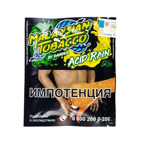 Табак Malaysian Tobacco 50 г Acid Rain (Лимон, Лайм)