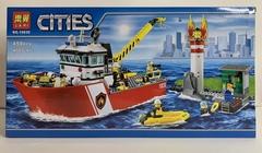 Сити 10830 Пожарный катер 450 д Конструктор
