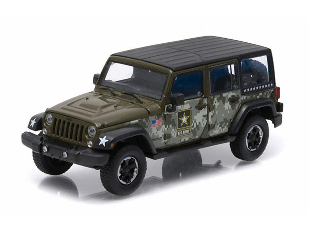 Коллекционная модель Jeep Wrangler 4x4 Unlimited U.S.Army Edition 5-дв. (Hard Top) 2014