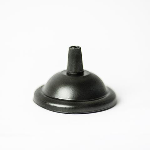 Чашка потолочная для светильника D65 (Черный)