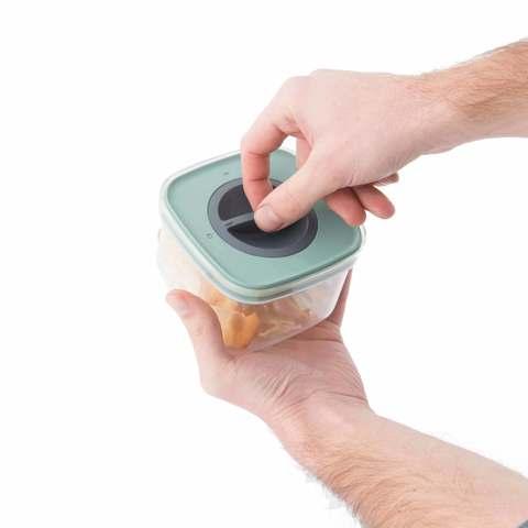 Контейнер для пищевых продуктов с герметизирующей крышкой 0,4л Leo