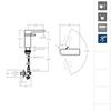 Смеситель для раковины AROLA 2601NM черный - фото №4