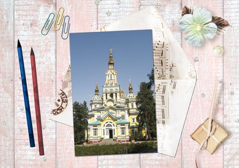 Вознесенский Кафедральный Собор, г.Алматы, парк 28 панфиловцев-гвардейцев