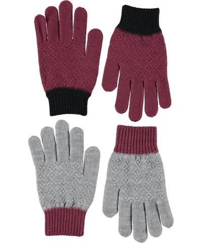 MOLO Kyra перчатки демисезонные (в комплекте 2 пары)