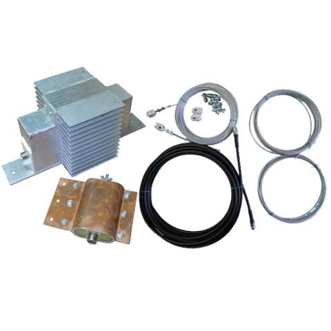 Многодиапазонная КВ антенна Radial CITY-WINDOM (CW160.1000.LT)
